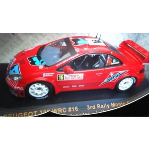 1/43 プジョー307 WRC No16 3rd Rally Monte Carlo 2006 T.Gardemeister|hobby1987