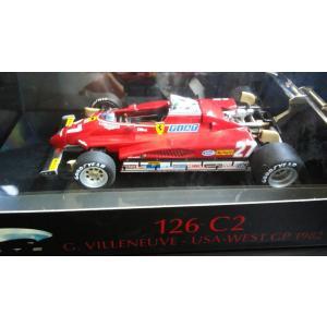 1/43 フェラーリ 126C2 No27 G.VILLENUVE USAーWEST GP 1982|hobby1987