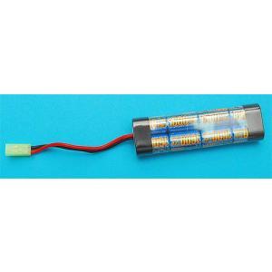 ハイパワーニッケル水素 G&P GP912B 9.6v 1600mAh ミニタイプバッテリー M4M16SR16MP5など 検)電動ガンマルイVFCKSC