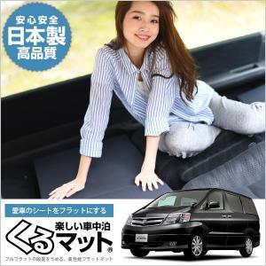 アルファード 10系 MNH10W (8人乗り) マット 車...
