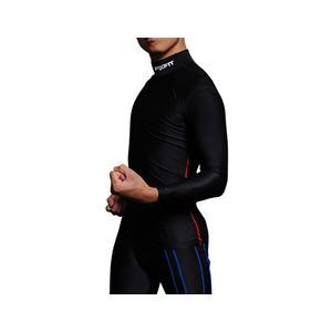 ★筋肉疲労を軽減するスポーツウェアFIXFITキネシオロジー。【品番:ACW-X03 ロング※ハイネック】話題のバイクサポートインナー バイク (20fi-002)|hobbyman