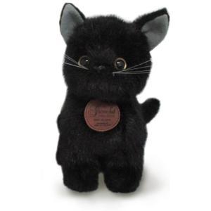 おすわりCAT ぬいぐるみ (黒猫) 014795I-6856の商品画像 ナビ