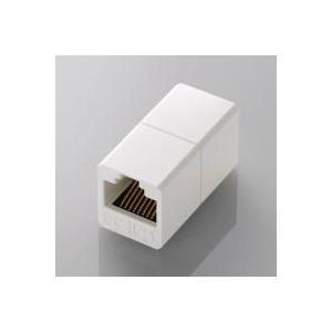[ELECOM(エレコム)] [CAT5E対応][延長]コンパクトRJ45延長コネクタ LD-RJ45JJ5Y2 【メーカーお取り寄せ】