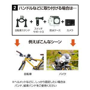 アクションカメラ バイク 4K 1200万画素 WiFi スポーツカメラ バイク用小型カメラ フルハイビジョン 防水 1080P 30M防水 HDMI GoPro|hobinavi|16