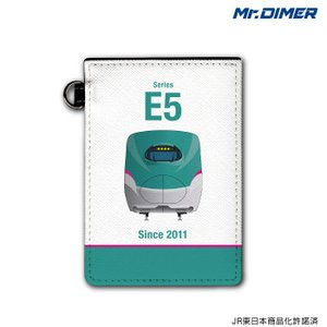 JR東日本 新幹線 E5系 【ICカード・定期入れパスケース:ts1029pb-ups01】鉄道 電...