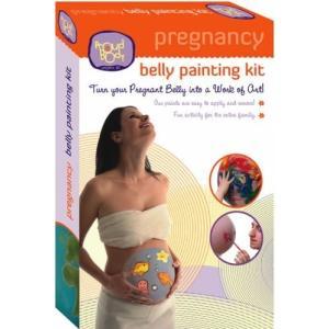 Proud Body ベリーキャストペイントセット アメリカの妊婦の間で流行っている Belly Cast 赤ちゃんで大きくなったママのお腹の型取り|hobipoke
