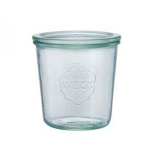 WECK Mold Shape ガラスキャニスター 500ml WE-742|hobipoke