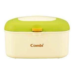 コンビ Combi おしり拭きあたため器 クイックウォーマー HU フレッシュ グリーン 上から温めるトップウォーマーシステム|hobipoke