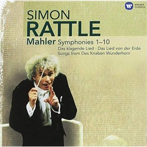 マーラー:交響曲全集 (Rattle Mahler: The Complete Symphonies) (14 CD)|hobipoke