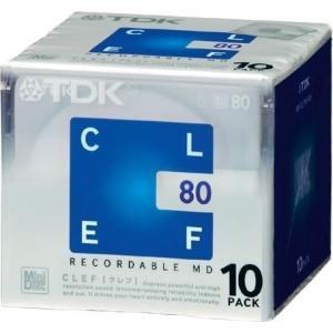 TDK MD CLEF 80分10枚パック MD-CL80X10N|hobipoke