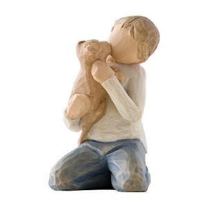 ウィローツリー彫像 Kindness (Boy) 優しさ hobipoke