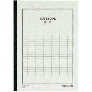 コクヨ ノ−4VN 統計ノート6号(セミB5)縦罫6本40枚 10冊セット|hobipoke