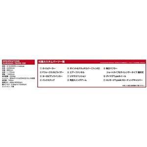 青島文化教材社 1/12 バイクシリーズ No.6 カワサキ ZII改スーパーカスタム プラモデル|hobipoke