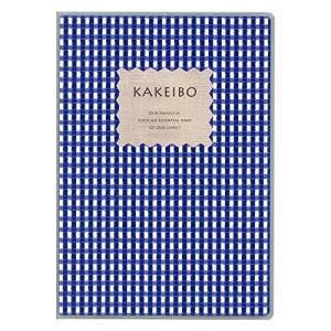 ダイゴー 家計簿 ギンガムチェック チェック柄 B5 ブルー J1238|hobipoke