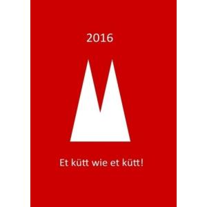dicker TageBuch Kalender 2016  Et kuett wie et kuett : Endlich genug Platz hobipoke