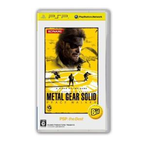 METAL GEAR SOLID PEACE WALKER PSP the Best hobipoke