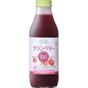 順造選 クランベリー100(果汁100%) 500ml×12本(1ケース)INR60905|hobipoke