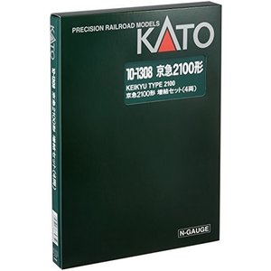 KATO Nゲージ 京浜急行 2100形 増結 4両セット 10-1308 鉄道模型 電車