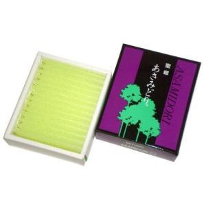 鳥居のローソク 蜜蝋 あさみどり 2号56本入(銀印) #100502 hobipoke