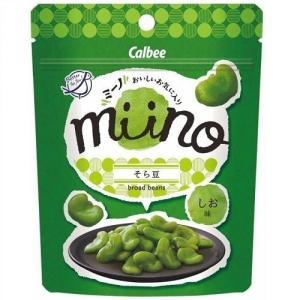 【販路限定品】カルビー miino そら豆しお味 28g×6袋|hobipoke
