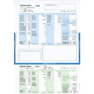 ソリマチ 給与・賞与明細書(封筒型・シール付き) 200枚入 SR232|hobipoke