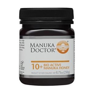 Manuka Doctor 100% 天然 マヌカハニー バイオアクティブ 10+ (MGO 100+ UMF 10+) 250g 日々の健康管理に|hobipoke