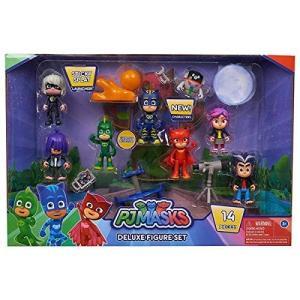 パジャマスク おもちゃ フィギュア 14個セット しゅつどう! キャットボーイ ゲッコー アウレット ルナ 男の子 女の子 子供 幼児|hobipoke
