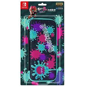 【任天堂ライセンス商品】スプラトゥーン2 ハードポーチ for Nintendo Switch インク×タコ【Nintendo Switch対応】|hobipoke