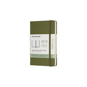 Moleskine 18 Month Weekly Planner Pocket Elm Green Hard Cover (3.5 x 5.5) hobipoke