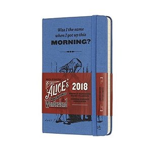 Moleskine Limited Edition Alice in Wonderland 12 Month Weekly Planner Pocke hobipoke