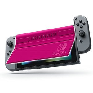 FRONT COVER for Nintendo Switch ピンク|hobipoke