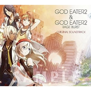 GOD EATER 2&GOD EATER 2 RAGE BURST ORIGINAL SOUNDTRACK (CD3枚組)|hobipoke