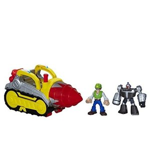 Playskool Heroes Transformers Rescue Bots Tunnel Rescue Drill Set|hobipoke