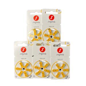 シバントス シグニア PR536 (10) 補聴器電池 黄 5パック|hochoki