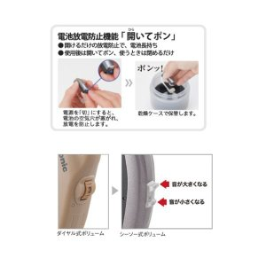 補聴器【耳かけ型】【片耳】【売れてます】パナソニック デジタル耳かけ型B1シリーズ WH-B15C 中等度〜高度|hochoukiyasan-com|03