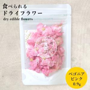 エディブルフラワー ドライ 食用花 食べられる 花 ベゴニア ピンク 誕生日 プレゼント ギフト 自然 滋賀県 能登川 メール便対応 ポイント消化|hocoro