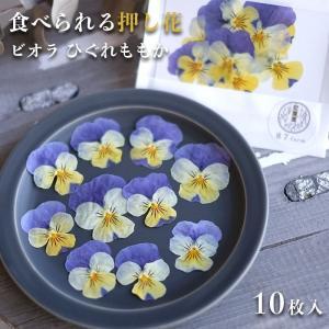 エディブルフラワー ドライ 食用花 食べられる 花 ビオラ ひぐれももか 誕生日 プレゼント ギフト 自然 滋賀県 能登川 メール便対応 ポイント消化|hocoro