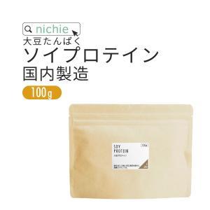大豆プロテイン 100g(ソイプロテイン 甘味料 香料無添加 大豆たんぱく食品)