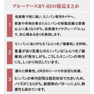 ヨコハマタイヤ ブルーアース RV-02 19...の詳細画像2
