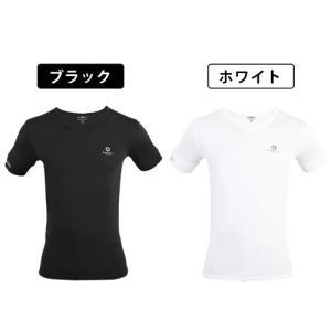 バンデルのVネック Tシャツ リニューアルして再入荷!  サイズ: Sサイズ:チェスト80〜88cm...