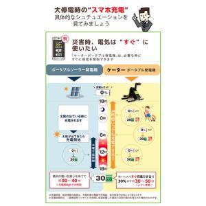 ケーター k-tor 発電機 パワーボックス POWER-BOX ペダル式 ポータル 防災用 充電 送料無料|hoho2014|03