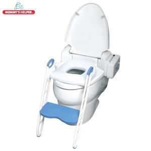 ダッドウェイ 座面がふかふかな ステップ付きトイレトレーナー|hohoemi