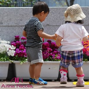ダブルガーゼショートパンツ 日本製 AnnaNicola(アンナニコラ)|hohoemi