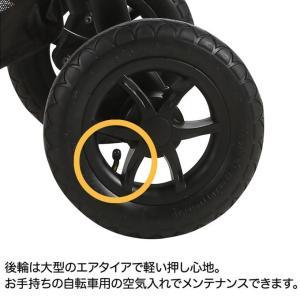 ジョイー 3輪ベビーカー Litetrax Air(ライトトラックス エア)カモフラ クッション付き hohoemi 08