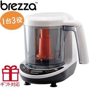 ブレッツァ フードメーカー 蒸すきざむつぶす1台3役の離乳食調理器 フードプロセッサー ベビーブレッツァ フードプロセッサー ブレッツア|hohoemi