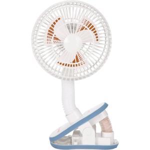 日本育児 おでかけ扇風機 ストローラーファン ホワイト|hohoemi