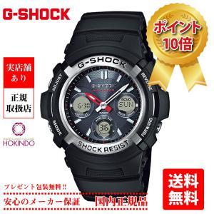 【CASIO】 カシオ G-SHOCK ジーショック デジアナ マルチバンド6 タフソーラー AWG-M100-1AJF|hokindo1904