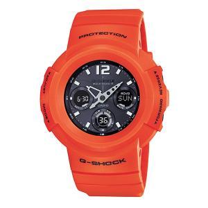 生産終了品 【CASIO】 カシオ G-SHOCK ジーショック Rescue Orange Series(レスキューオレンジシリーズ) デジアナ マルチバンド6 タフソーラー AWG-M510MR-4AJF|hokindo1904