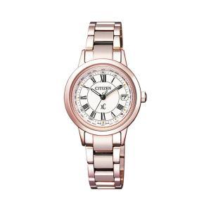 シチズン CITIZEN 腕時計 xC クロスシー エコ・ドライブ電波時計 ティタニアライン ハッピーフライト EC1144-51W  レディース|hokindo1904