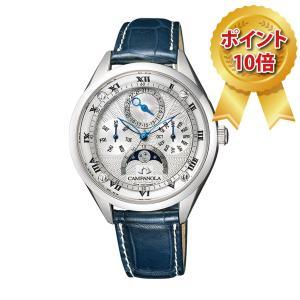 カンパノラ CAMPANOLA ミドルサイズ 腕時計 COMPLICATION ムーンフェイズ EC4000-03A 限定170本|hokindo1904